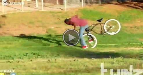 (Vídeo) Broma para los ladrones de bicis
