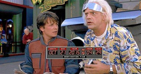 Hoy es la fecha en la que Doc y Marty McFly viajaron al futuro.
