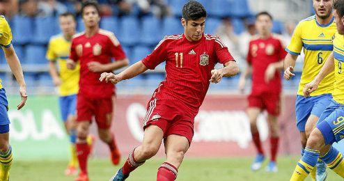 Asensio es una pieza clave en las categorías inferiores de España.
