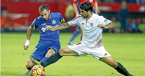 Banega, del Sevilla, es una pieza importante para Emery.