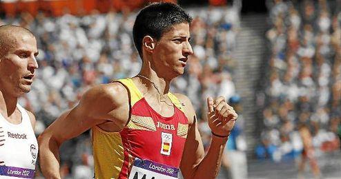 Luis Alberto Marco, durante los Juegos Ol�mpicos de Londres.