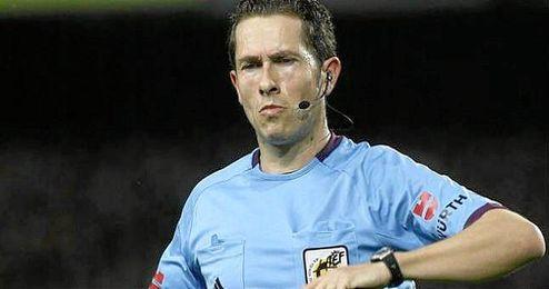 El árbitro de Ponferrada, José Luis González González.