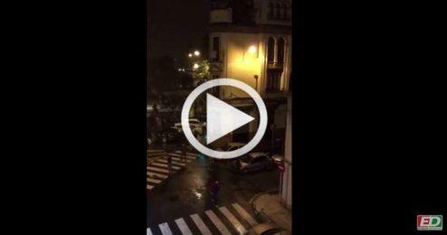 (VÍDEO) Pelea entre ultras del Sevilla y del City en El Arenal