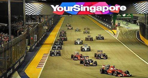 Imagen del Gran Premio de Singapur.