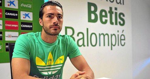 Xavi Torres, en sala de prensa.