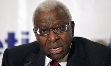 Lamine Diack, expresidente de la IAAF.