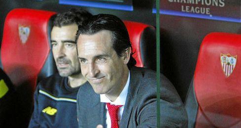 Unai Emery espera un gran Sevilla ante el Real Madrid.