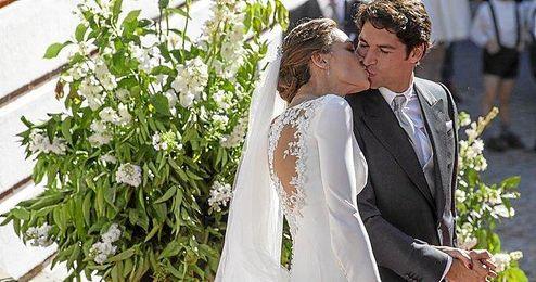 Eva González y Cayetano Rivera se casan en Mairena del Alcor