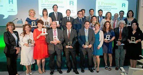 Entrega de premios de la lll Edición de los Premios Ecoembes.