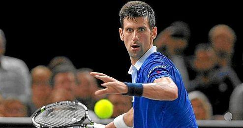Djokovic se ha impuesto en las semifinales de París a Wawrinka.
