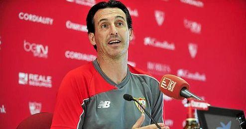 Emery quiere ver al mejor Sevilla.
