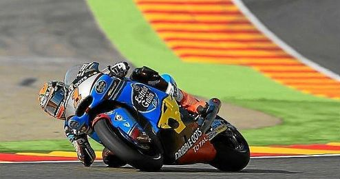 Tito Rabat saldrá desde la pole en Valencia.