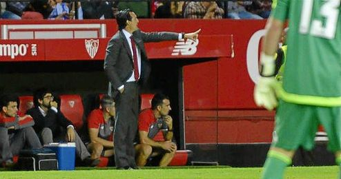 Emery se mostr� satisfecho con la aportaci�n de los delanteros.