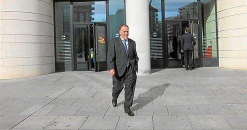 Este lunes ha declarado ante el juez en el Palacio de Justicia de Pamplona.