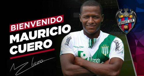 Mauricio Cuero, nuevo jugador del Levante U.D.