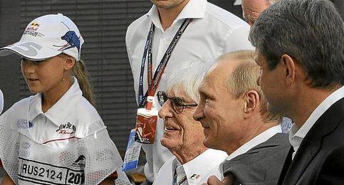 Vladimir Putin en un acto en Sochi, Rusia.