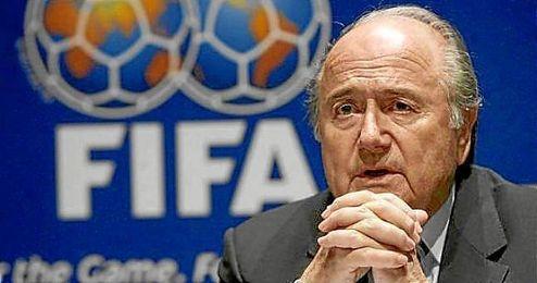 Joseph Blatter ha sido hospitalizo en Suiza.