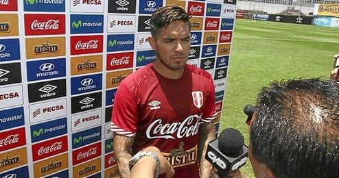 """""""Con el Fiorentina tengo la experiencia de haber entrado al partido desde el banquillo y a los cinco minutos hacer gol"""", recordó Vargas."""
