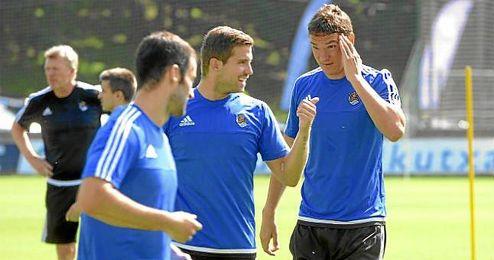 """Ansotegi afirma que """"el objetivo más importante es ganar al Sevilla""""."""