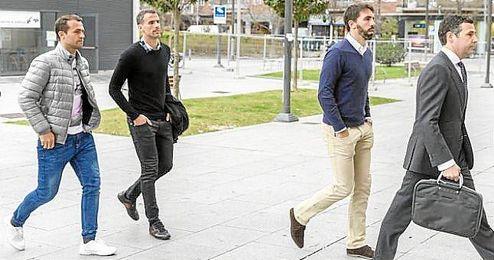 Jordi Figueras y Alejandro Amaya son algunos de los que prestarán declaración.