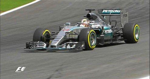 Hamilton saldrá segundo.