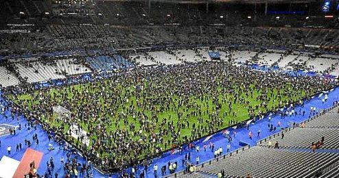 El Stade de France tiene una capacidad para 81.000 personas.