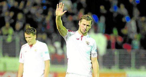 Krychowiak no se ha perdido ni un solo minuto en este curso, ni con el Sevilla ni con Polonia.