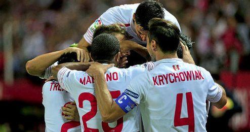 Fernando Llorente anotó ante el Madrid el último tanto sevillista hasta la fecha.