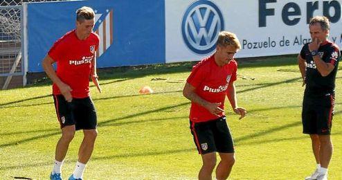 Torres y Griezmann podrían ser la dupla atacante en el Villamarín.