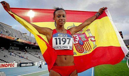 La atleta gallega Ana Peleteiro.