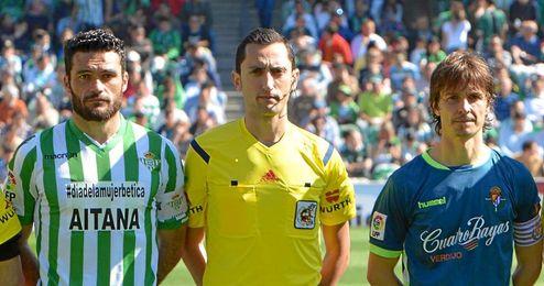 Sánchez Martínez dirigió el Betis-Valladolid en Segunda.