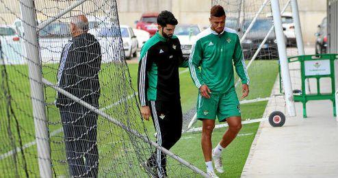 El egipcio Tarek se retira del entrenamiento.