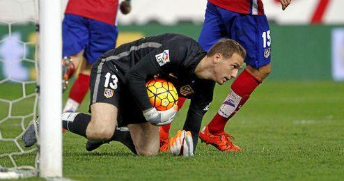 Entre su firmeza defensiva y un gran Oblak, el Atlético es el menos goleado de la Liga.