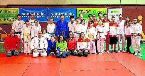 Imagen de la Selecci�n Espa�ola de Judo.