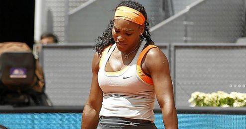 Serena Williams, en un partido en el Open de Madrid.