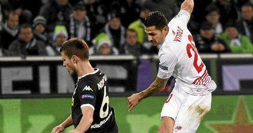 Vitolo marcó un gol en la segunda parte.