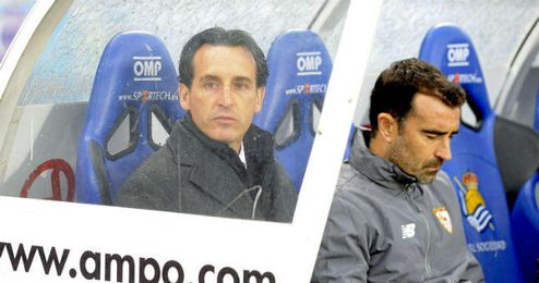 Emery es señalado por la afición sevillista.