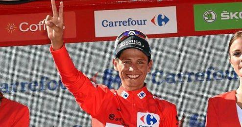 Venció en el Tour de Abu Dabi superando al italiano Fabio Aru.