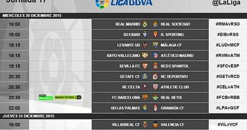 Ya hay horario para el Barça-Betis de fin de año