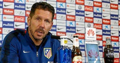 """""""Pensamos en el partido a partido, el siguiente, el Espanyol""""."""
