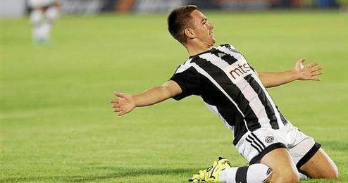 Andrija Zivkovic, un talento en ciernes al que sigue el Sevilla.