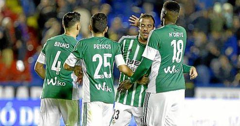 Petros habló sobre la buena actuación de Rubén Castro ante el Levante.