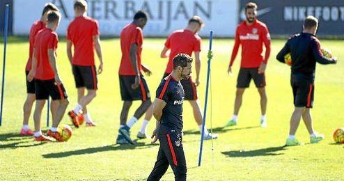 Simeone hará rotaciones en la Copa del Rey.