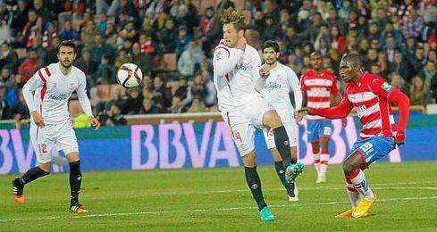 Imagen del partido de Copa del Rey de la temporada pasada que enfrentó a ambos conjuntos.