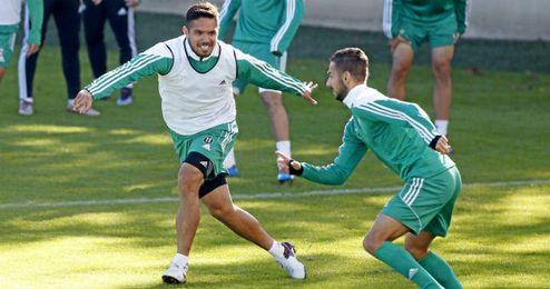 Vargas y Vadillo podr�an volver a disfrutar de minutos esta noche.