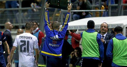 Al Madrid le puede salir cara la participación de Cheryshev en el Carranza.