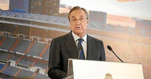 """Florentino Pérez dijo que """"la sanción no es eficaz al no ser notificada a Cheryshev""""."""