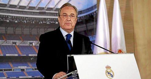 Florentino Pérez ya avisó que recurrirían la sanción.