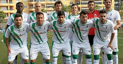 El once andaluz que se enfrentó a Canarias