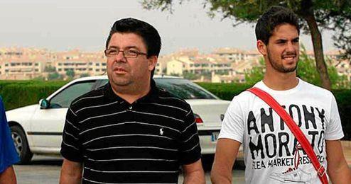 Antonio Fernández fichó a Isco para el Málaga